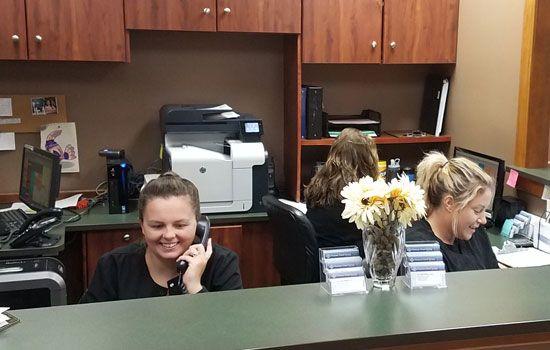Florissant Dentist Front Desk